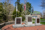 War Memorials at the Milldam site in Concord, MA