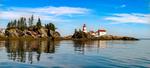 East Quoddy Head Lighthouse, Campobello Island, New Brunswick, Canada