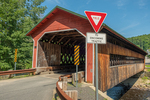 Ware–Hardwick Covered Bridge is a historic covered bridge spanning the Ware River on Old Gilbertville Road and Bridge Street in Ware and Hardwick, Massachusetts.