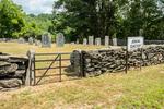The Jenkins Cemetery in Barre, Massachusetts