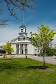 The Barre, Massachusetts Town Hall on the Town Common