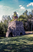The Katahdin Iron Works kiln in Brownville, Maine