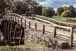 The Old North Bridge in Concord, Massachusetts