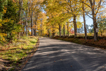 A country road in rural Nelson, New Hampshire