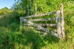 An old wooden gate in Hardwick, Massachusetts