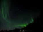 Green Aurora over Fairbanks