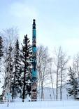 Totem Pole Univ. of Fairbanks, Alaska