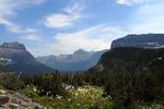 Valley of Bear Grass near Logan Pass Glacier NP