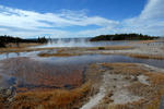 Firehole Lake Yellowston NP