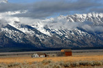 John Heniger Barn Mormon Row Jackson Hole Wyoming