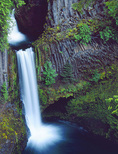 LF 386.  Toketee Waterfall.  North Umpqua River.  Umpqua National Forest, OR