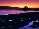 MF 5.  A full spectrum of color at dusk across and above Tomales Bay and Point Reyes National Seashore, CA
