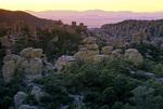 MF 285.  Sunset beneath Chiricahua National Monument, AZ