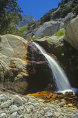 SF 2119.  Cartago Falls at early summer.  Cartago Canyon, Eastern Sierra, CA, USA