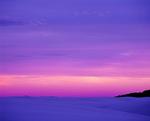 MF 424.  Soft, dusk skies fall across White Sands National Monument, NM