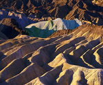 MF 349.  Zabriskie Point at sunrise.  Death Valley National Park, CA