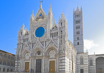 D3X 54.  The Duomo in Siena at early morning.   Tuscany, Italy