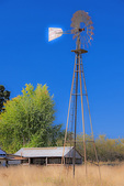 D3X 115.  An Aeromotor Windmill from the 19th century in rural Polk County.  Willamette Valley, OR