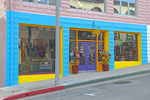 D3X 155.  A colorful store and storefront in Pacific Grove, CA