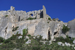 D800e 18.  A frontal view of the fortifications at Les Baux.  Alpilles, Provence, France.