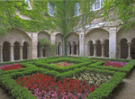 D800e 32.  The inner gardens of St. Paul Monastery and Hospital.  St. Remy de Provence, France.