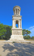 D800e 50.  One of two of the most impressive and well preserved edifices at Glanum.  St. Remy de Provence, France.