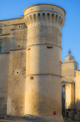 D800e 114 PI.  Medieval tower near the center of Gordes. The Vaucluse, Provence, France, Europe