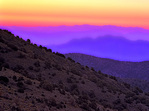 MF 306 PI.  Dawn skies from the flanks of the White Mountains.  Inyo County, CA