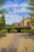 D3X 180 PI.  A restaurant and villa in Tuscany, Italy