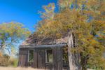 D3X 124 PI. A remote 19th century school house falling into decay. Sonoma County, CA