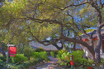 D3X 142. Entry to the Carmel Art Association and gallery. Carmel, CA