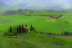 D800e 241. The well known Belvedere Hotel on the periphery of San Quirico. Val d'Orcia, Tuscany, Italy.