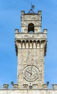 D800e 260.  City Hall Terrace and Tower, Montepucliano, Val d'Orica, Tuscany, Italy.