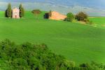 D800e 281.  The Vitaleta Chapel [Chapel of the Madonna of Vitaleta] near sunset.  San Quirico, Pienza, Val d'Orcia, Tuscany, Italy.