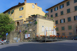 D800e 283.  The main entry into the old city of Cortona at early morning. Tuscany, Italy.