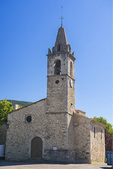 The church of Valernes.  Provence, Haute-de-Alpes, France