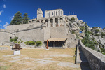 D810 18.  Within the walls of The Citadel.  Sisteron, Haute-de-Alpes, Provence, France
