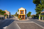 D800e 354.  The restaurant Lou Claveu at mid summer.  Fontvieille, Bouches-du-rhone, Provence, France