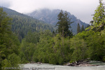 The Elwha River.