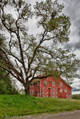 Fiechter Barn, Digital Composite, HDR