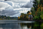 The Willamette River. Digital Composite, HDR