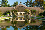 The Botanical Building, Balboa Park, San Diego, California.