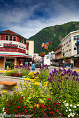 Downtown Juneau, Alaska.
