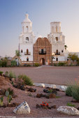 Mission San Xavier del Bac, (White Dove of the Desert) Tucson, Arizona.