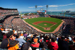 AT&T Park, San Francisco Giants game, San Francisco, CA.