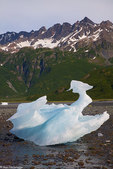 Aialik Glacier and Aialik Bay, Kenai Fjords National Park, near Seward, Alaska.