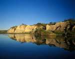 The Scarborough Bluffs on Lake Ontario, Toronto, Ontario
