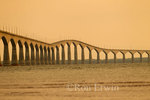 The Confederation Bridge stretches 13 killometres across the Northumberland Strait from Bordon-Carleton Gateway Village on Prince Edward Island to New Brunswick