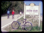Bicycling at Mackinac Island State Park.