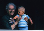 Great Grandmother And Child